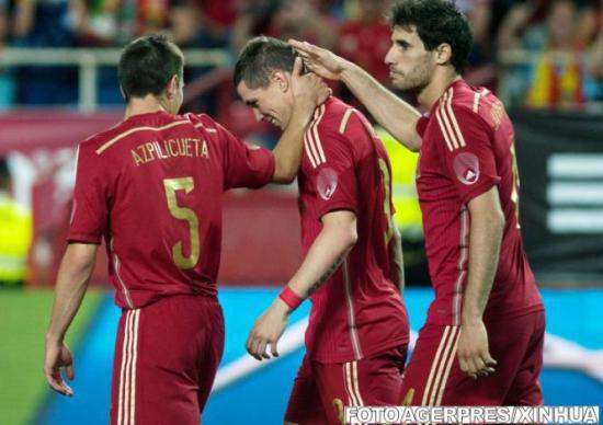Spania are cea mai mare valoare de piaţă dintre echipele calificate la Cupa Mondială