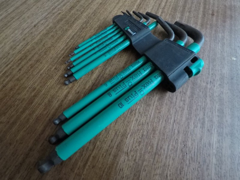 Wera hex tool set - The (Bike) Tools That I Use Most: 6 'Must Have' Implements