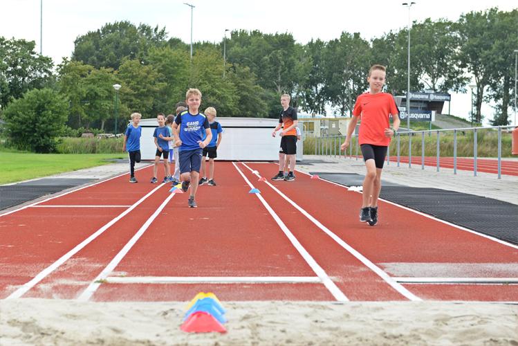 Atletiekkampen zomervakantie