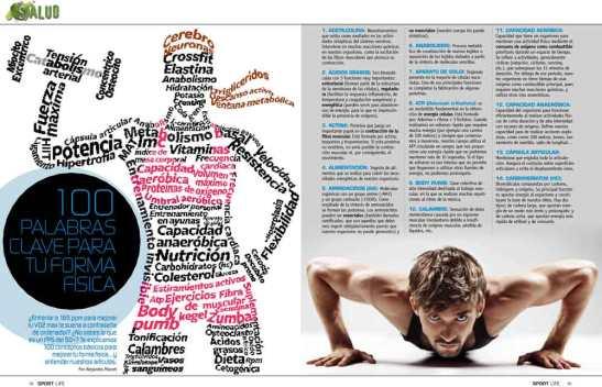 Las 100 palabras clave del fitness