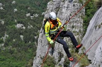 Soccorso alpino con Dolomite