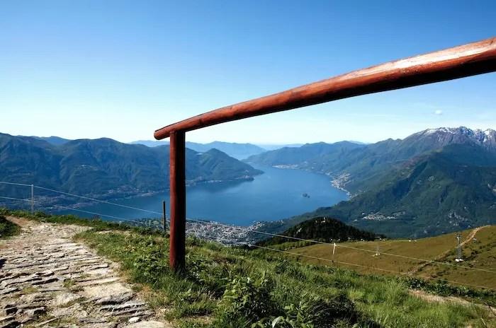 Camminate in Ticino: all'Alpe Cardada e alla Cimetta da Brione sopra Minusio