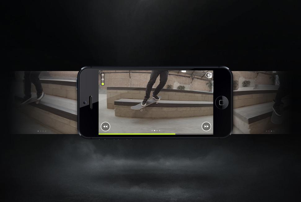 L'App Nike per lo skateboard
