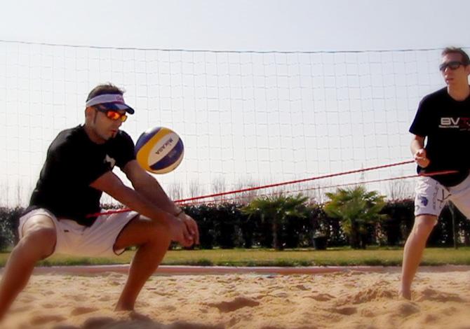 Beach volley, migliorare la difesa