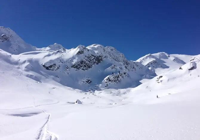 Scialpinismo a La Thuile sul Mont Valaisan