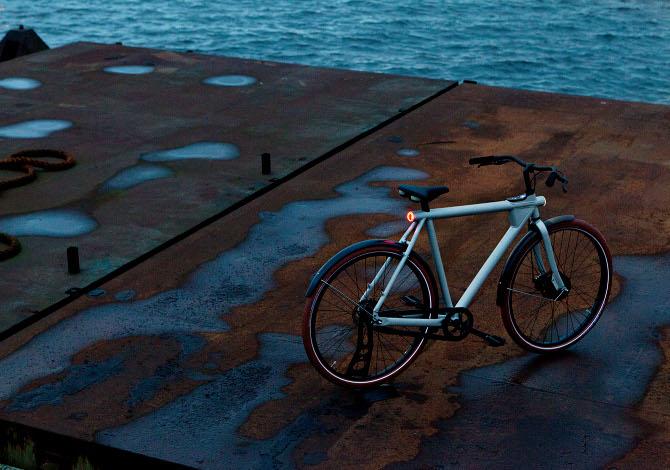 La bici con l'antifurto GPS integrato