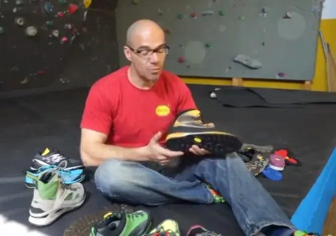 Le suola delle scarpe da alpinismo