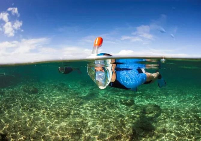7 ottime maschere da snorkeling sotto i 100 euro