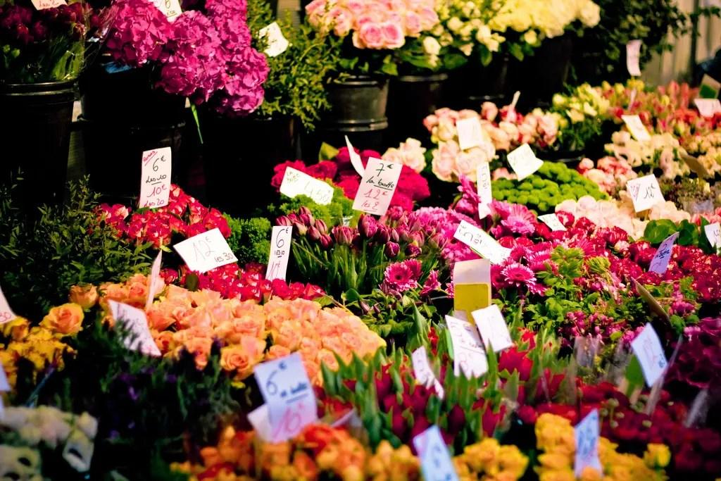 I 10 mercati di fiori all'aperto più belli del mondo