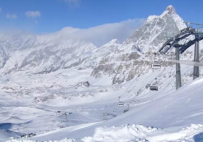 Le 8 piste da sci più panoramiche d'Italia