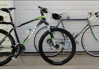 Bici da corsa o mountain bike