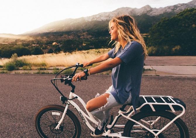 Andare in bici rende felici