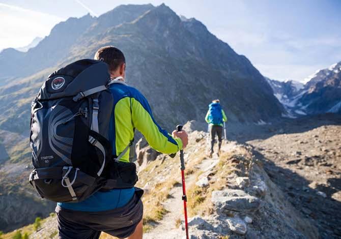 I migliori zaini da trekking da 10 a 80 litri