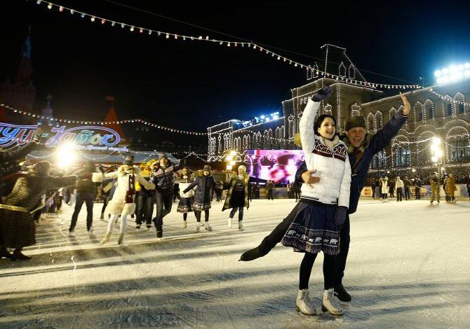 Le piste di pattinaggio su ghiaccio più belle del mondo