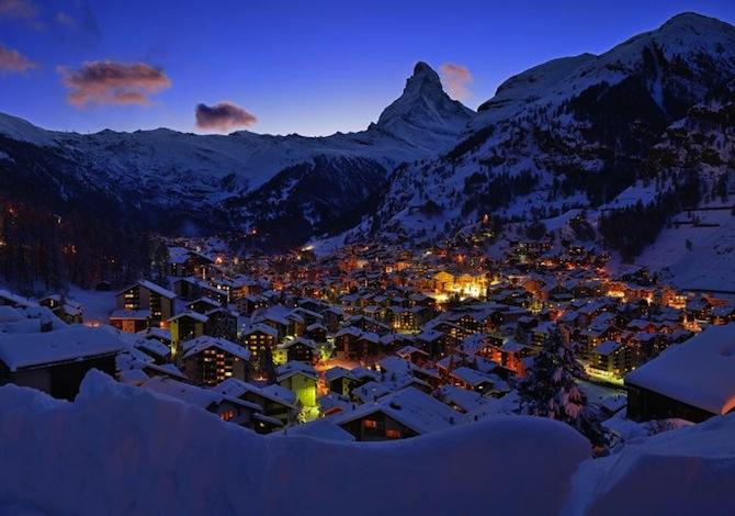 Le località sciistiche delle Alpi più ricche di charme