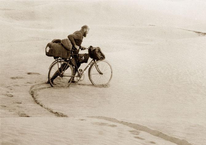 Kazimierz Nowak esploratore polacco bicicletta africa