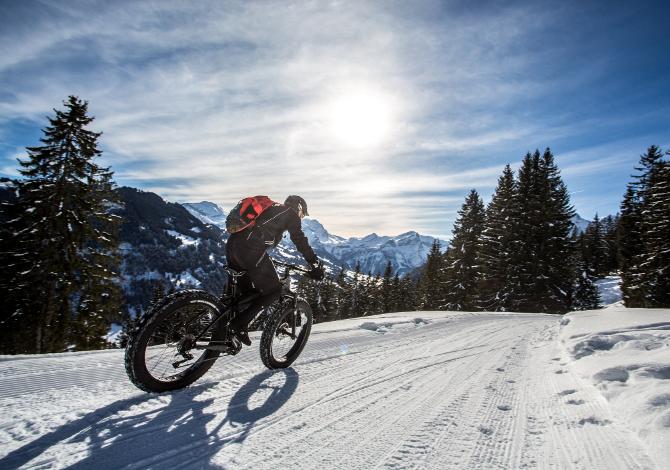 Snow Bike Festival 2017, 19 22 gennaio Gstaad