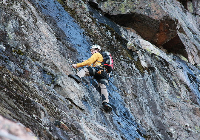 Cosa serve per fare una via ferrata_Skuleberget