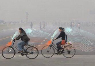 La Smog Free Bike di Dan Roosegaard in Cina