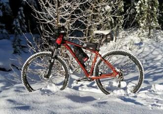 7 consigli per andare in bici con la neve