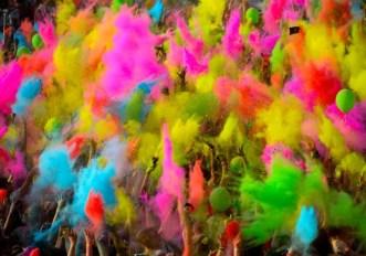 The color Run Milano Parco Experience Area Expo
