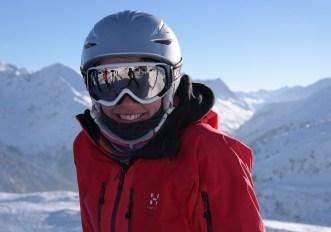 Come regolare casco da sci
