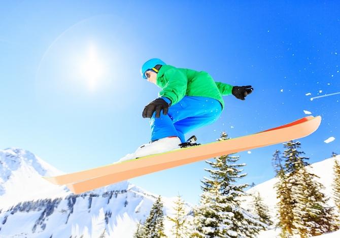 sciare in Piemonte dove costa meno