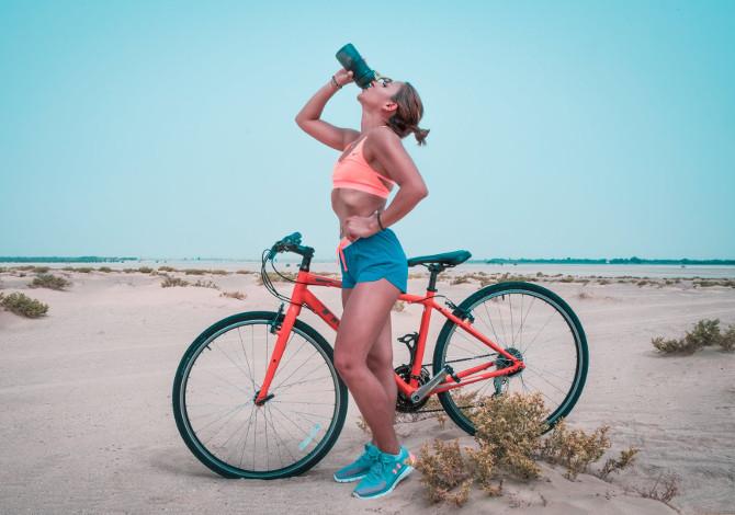 bicicletta col caldo