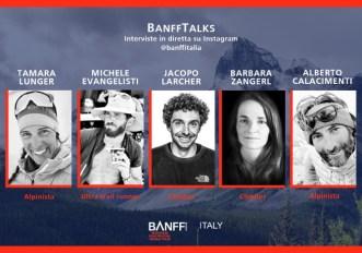 BanffTalks: le interviste del Banff Mountain Film Festival con i protagonisti dell'outdoor