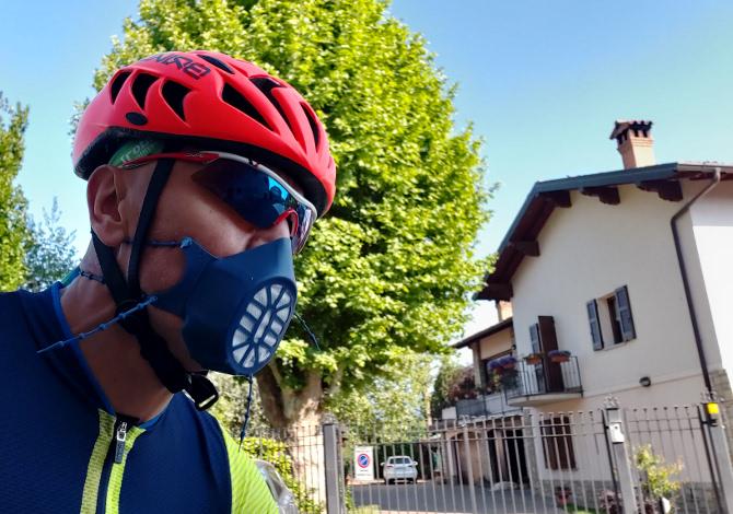 Bergamask, la mascherina per lo sport in silicone