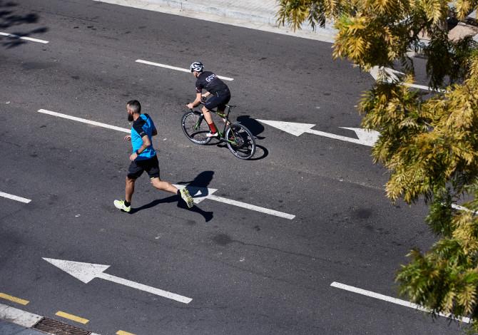 Alternare corsa e bicicletta va bene?