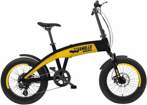 bici elettrica ducati scrambler