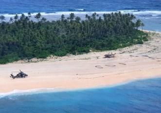 Scrivere SOS sulla sabbia funziona