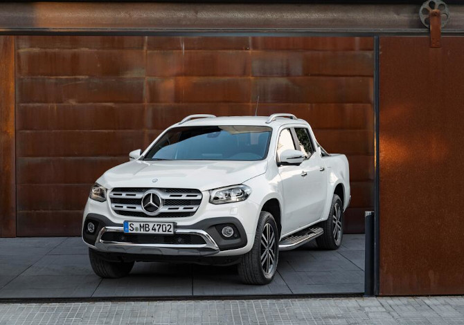 Pick-Up 4x4 per la montagna Mercedes Classe X