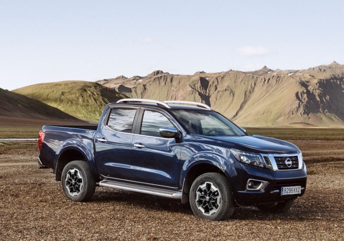 Pick-Up 4 ruote motrici Nissan Navara