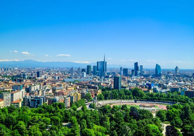 giri in bici a Milano