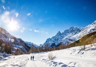 nuovi itinerari sulla neve a Courmayeur