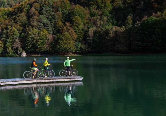 La ciclabile dal Lago d'Idro alle Dolomiti di Brenta, per scoprire in bicicletta in Trentino