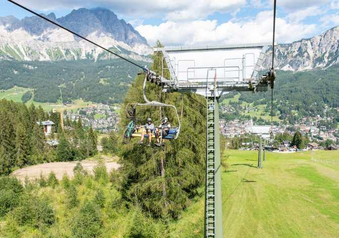 Il Bike Park di Cortina d'Ampezzo e gli impianti di risalita riaprono sabato 22 maggio