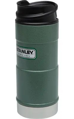 STANLEYClassic_One_Hand_Vacuum_Mug_12oz_354mL_Hammertone_Green_Hero