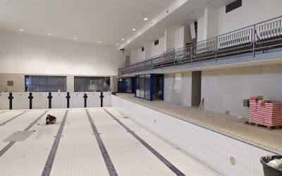 Bazén bude v provozu od října 2019