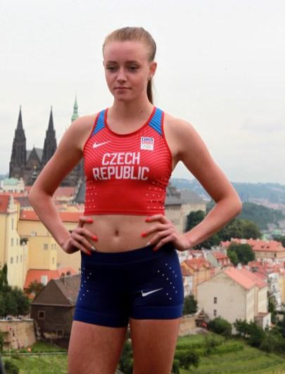 27.6.2016 Praha Strahovský klášter fotografování a představení závodního oblečení Nike pro LOH RIO. Foto CPA