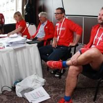5.7.2016 Amsterodam/ Holland/ sport/atletika/ ME/mistrovství evropy v atletice/ týmová porada před zahájením závodů foto CPA