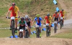 3.7.2016 Nové město na Moravě ČR /Sport/ Mountain bike/ horská kola / mistrovství světa/muži Elite foto CPA