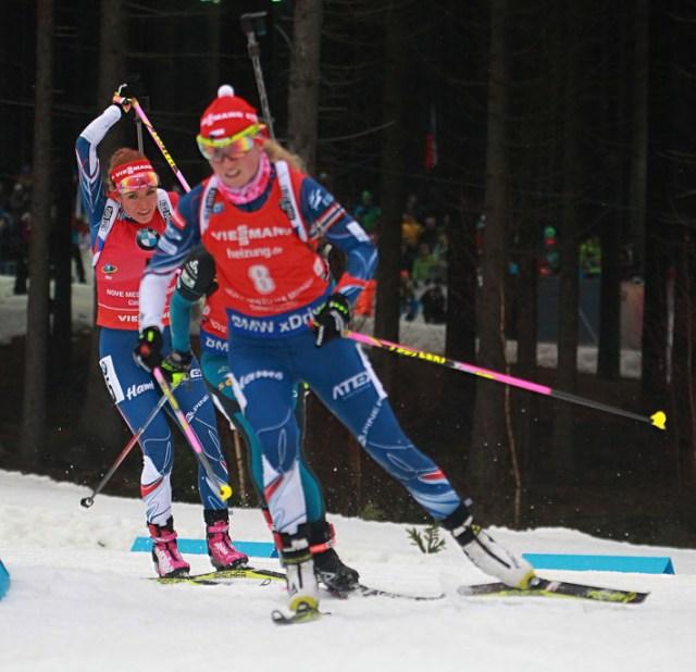 18.12.2016 Nove mesto na Morave / svetovy pohar/ biatlon/ sport/hromadny start zeny/ women/ foto CPA
