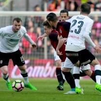 23.4.2017 / Praha / sport / fotbal / AC Sparta Praha / FC Viktoria Plzen / 2:0 / Foto CPA