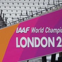 3.8.2017 Londyn / sport / atletika MS Atletika/ Olympijsky stadion se chysta na MS FOTO CPA