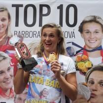 25.8.2017 Praha / sport/ atletika/ U pinkasu/ Barbora spotakova FOTO CPA