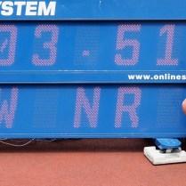 24.6.2018 Praha / sport / atletika / mistrovství České republiky juniorů a dorostu. Barbora Malikova FOTO CPA
