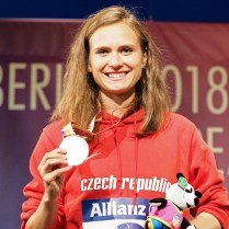 24.8.2018 /ME /atletika /Berlin /handicap / Jaksova Tereza beh Foto CPA